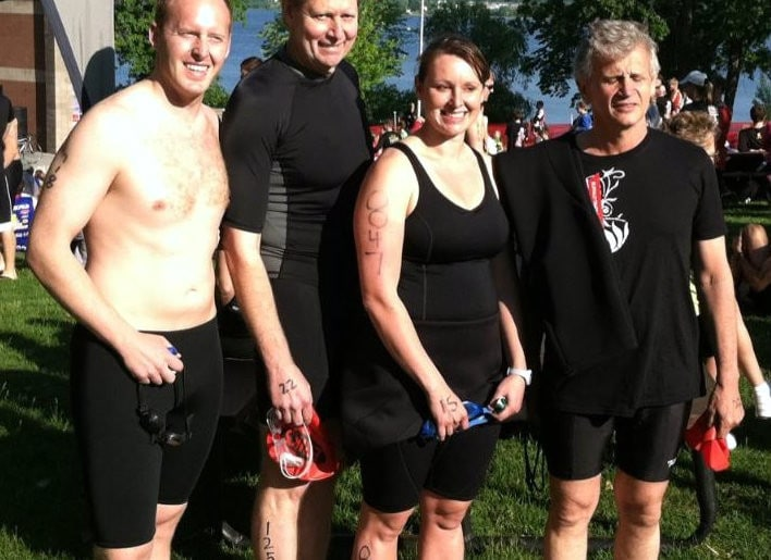 My First Triathlon – Is This How George Plimpton Felt?