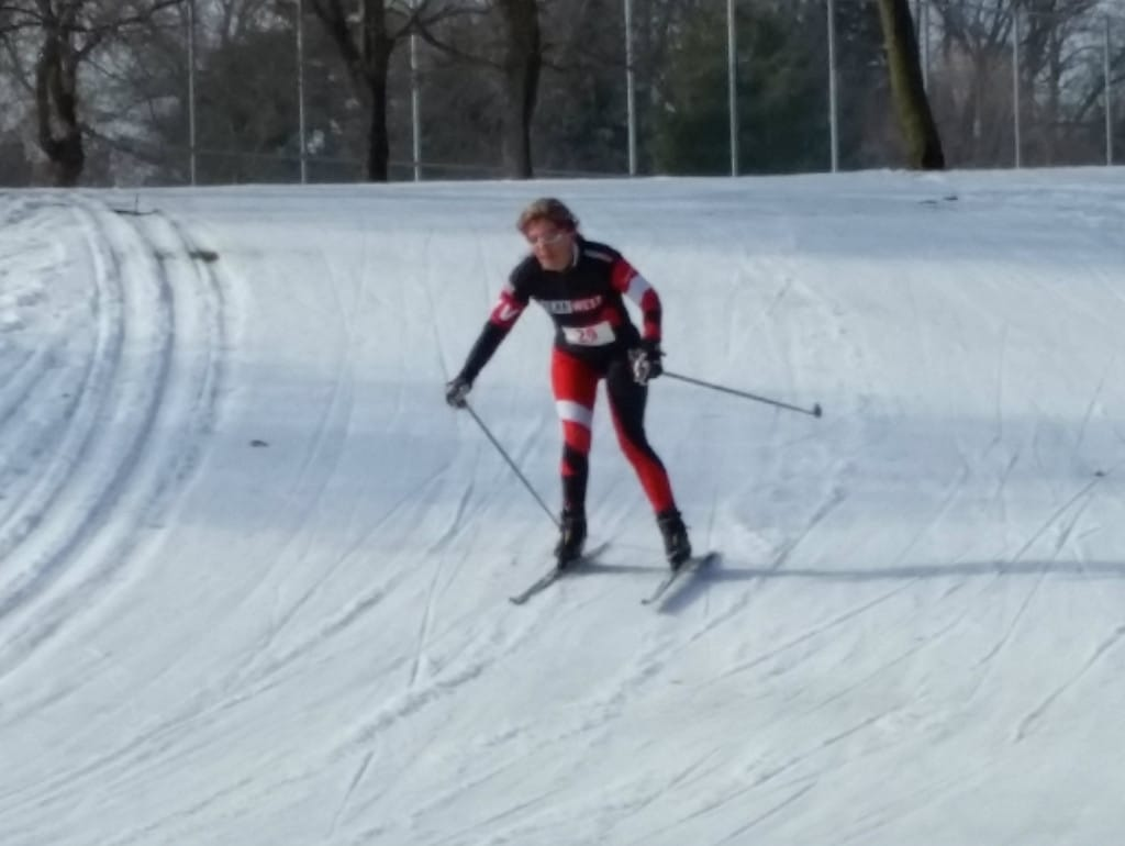 cross-country skiing is effective cross training for cycling