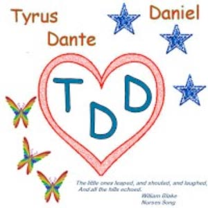 logo for the TDD triathlon and fundraiser