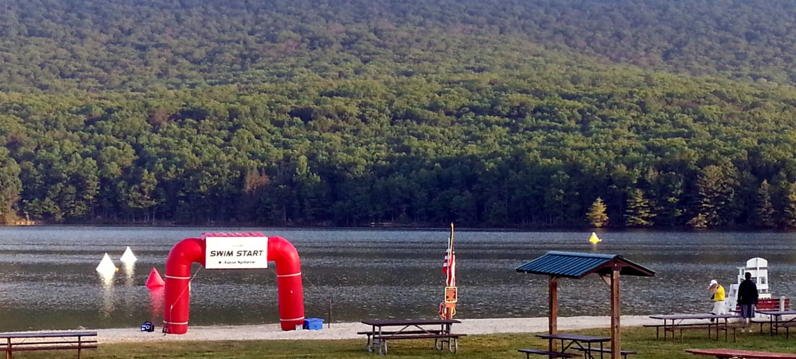 What I Learned About Race Fueling at the Rocky Gap Triathlon