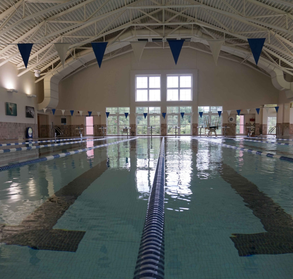 Indoor lap pool at The Swimming Hole (Photo courtesy of The Swimming Hole)