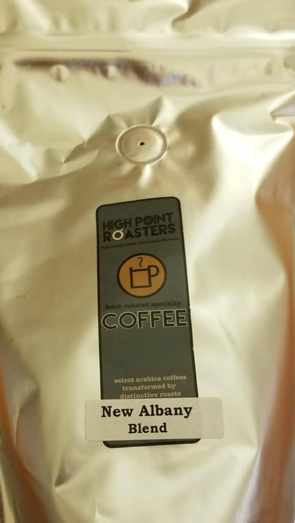 Awards for the Tupelo Sprint Tri were a package of ground coffee from High Point Roasters, New Albany, Mississippi