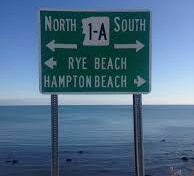 sign for Rye Beach