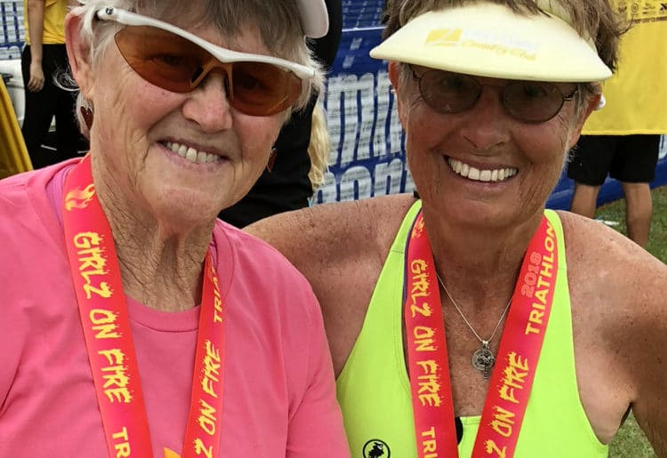 """My First Sprint Triathlon was in 19 Days"" – Pat Johnson's Story"