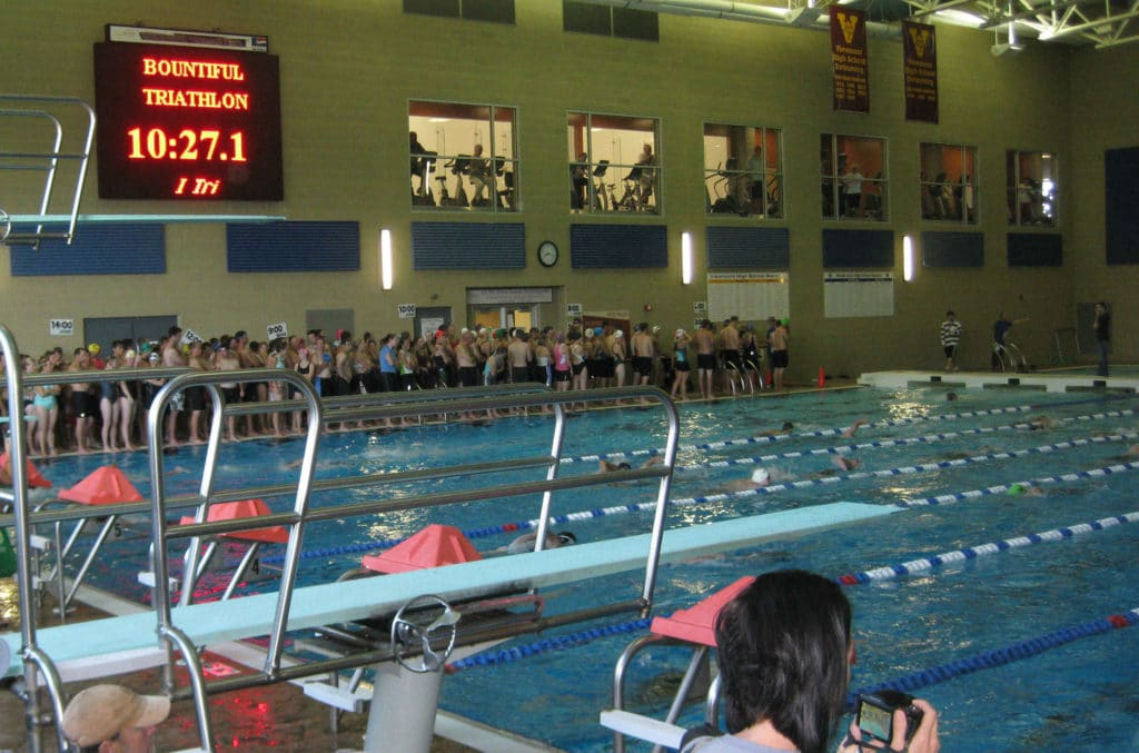 South-Davis-Recreation-Center-pool-during-triathlon-swim
