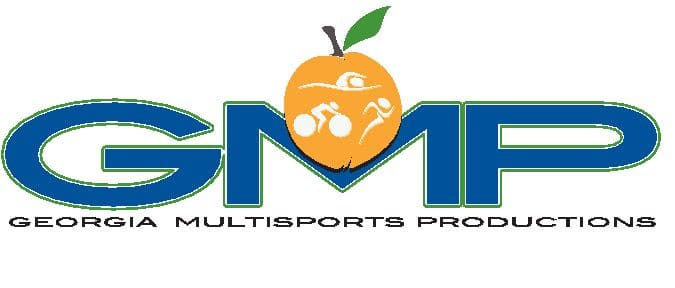 logo for Georgia Multisports Productions, sponsor of the 2020 8-week endurance challenge.